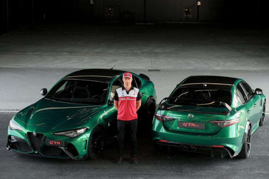 Kimi Raikkonen a Balocco Proving ground